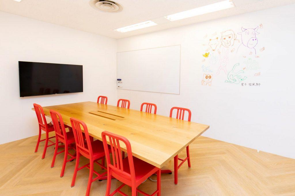 Crevo株式会社の会議室