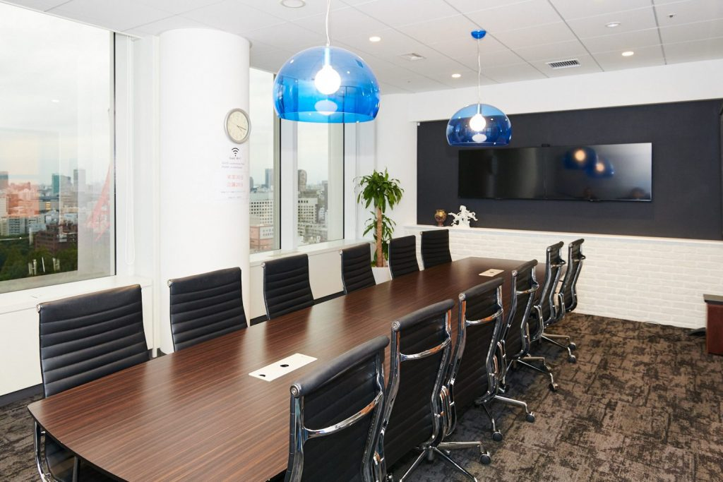 株式会社エアトリの会議室