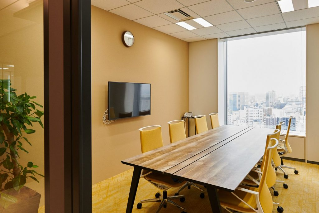 メディックスの会議室